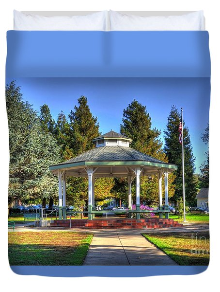 City Park Duvet Cover