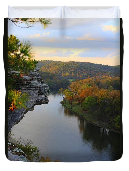 City Rock Bluff Duvet Cover