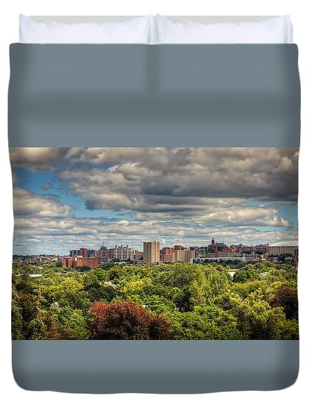 City Skyline Duvet Cover