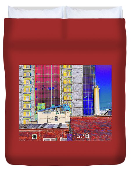City Space Duvet Cover