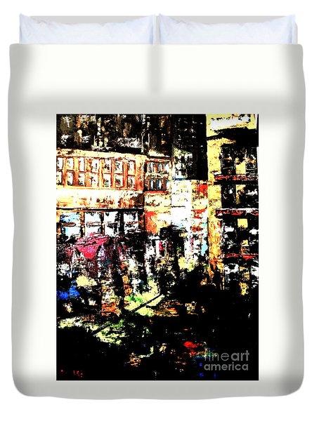 City Stroll Duvet Cover