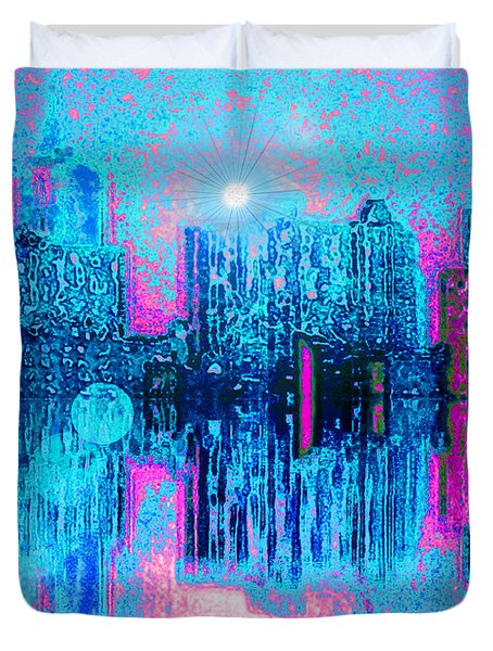 City Twilight Duvet Cover