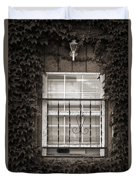 City Window Detail Duvet Cover
