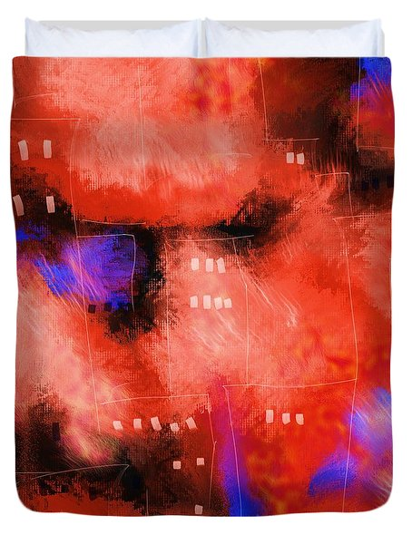 City Windows Duvet Cover