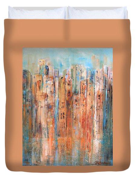 Cityscape #3 Duvet Cover