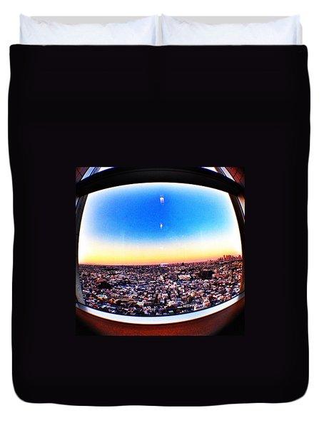 Cityscape Skyline Duvet Cover