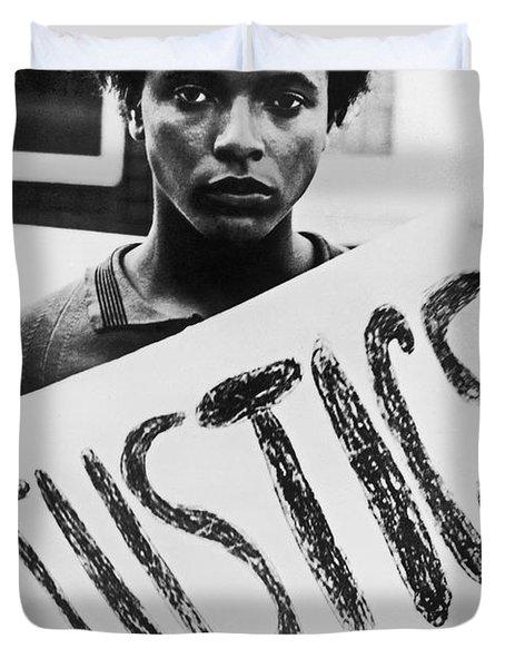 Civil Rights, 1961 Duvet Cover