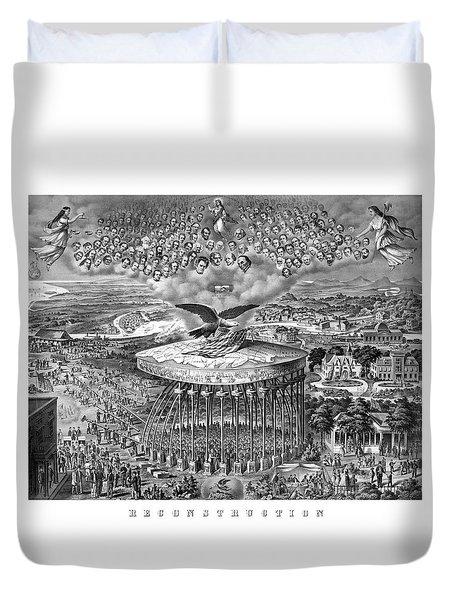 Civil War Reconstruction Duvet Cover by War Is Hell Store