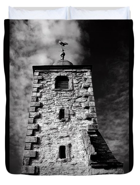 Clackmannan Tollbooth Tower Duvet Cover