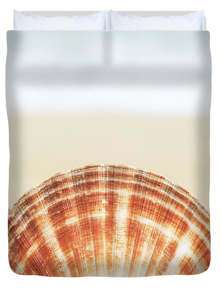Clam Shell Duvet Cover by Brandon Tabiolo - Printscapes