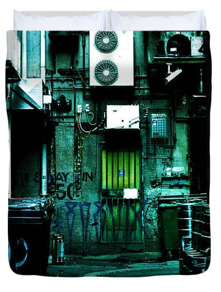Clandestine Duvet Cover by Andrew Paranavitana