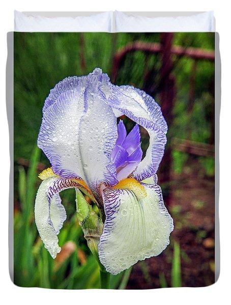 Clarabelle Iris Duvet Cover
