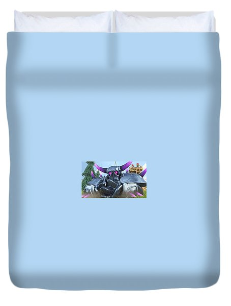 Clash Of Clans Hack Duvet Cover by Coc Hack
