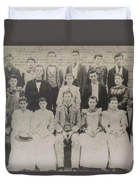 Class Of 1894  Duvet Cover