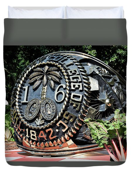 Class Ring Duvet Cover by Ed Waldrop