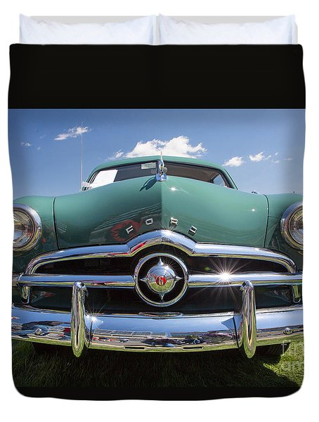 Classic 1949 Ford Duvet Cover