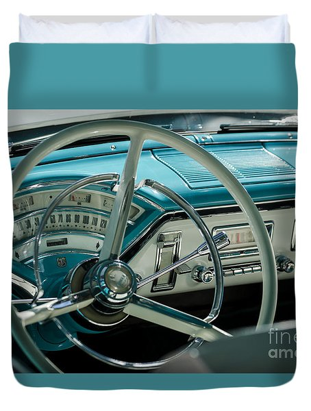 Duvet Cover featuring the photograph Classic by Andrea Silies
