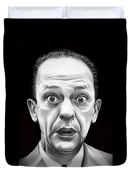Classic Barney Fife Duvet Cover by Fred Larucci