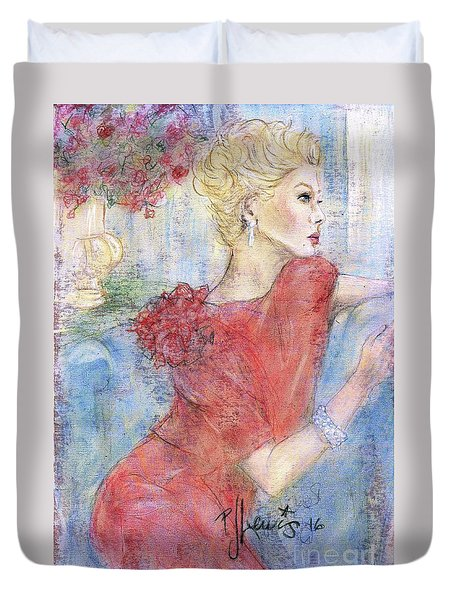 Classic Beauty Duvet Cover by P J Lewis