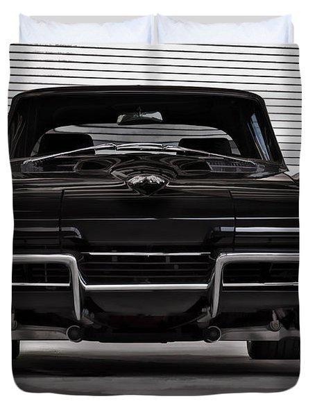 Classic Black Duvet Cover