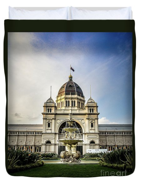 Duvet Cover featuring the photograph Classic Buld by Perry Webster