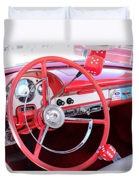 Classic Car Duvet Cover by Allen Beilschmidt