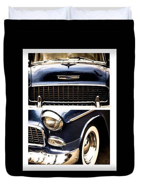Duvet Cover featuring the photograph Classic Duo 4 by Ryan Weddle
