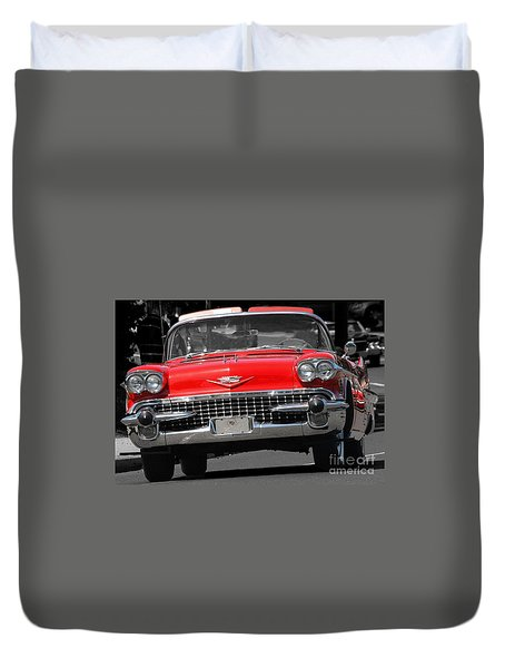 Classic Car Duvet Cover by Raymond Earley
