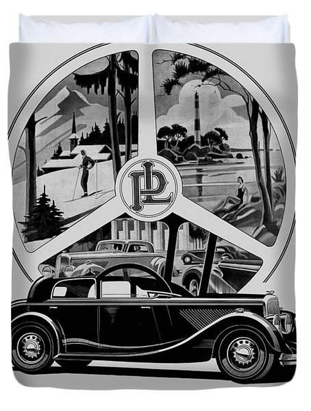 classic cars french art deco icon panhard digital art by heidi de leeuw. Black Bedroom Furniture Sets. Home Design Ideas