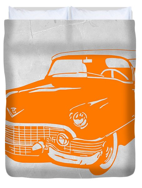 Classic Chevy Duvet Cover by Naxart Studio