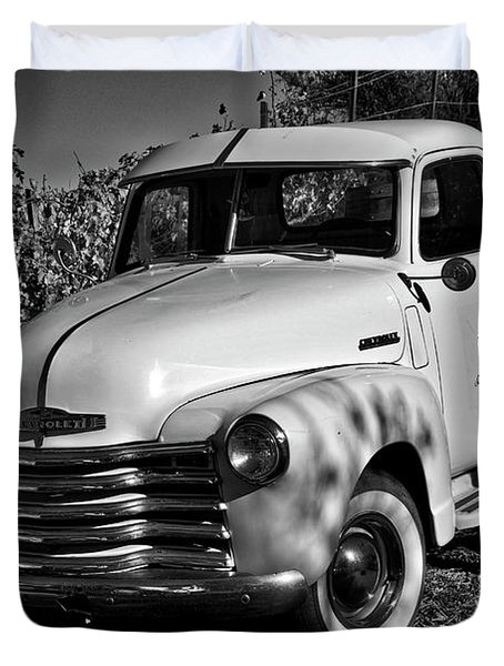 Classic Chevy Truck Duvet Cover