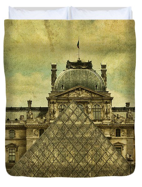 Classic Contradiction Duvet Cover by Andrew Paranavitana