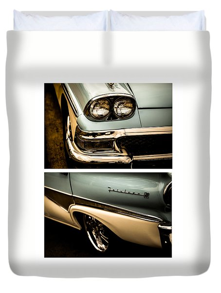 Duvet Cover featuring the photograph Classic Duo 1 by Ryan Weddle