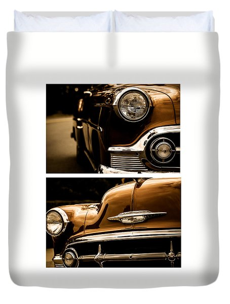 Duvet Cover featuring the photograph Classic Duo 3 by Ryan Weddle