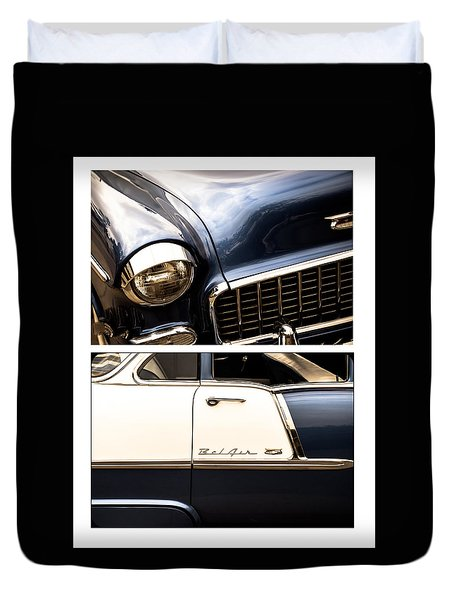 Duvet Cover featuring the photograph Classic Duo 5 by Ryan Weddle