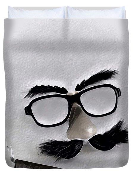 Classic Groucho Duvet Cover