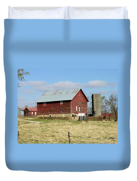 Classic Kansas Barn Duvet Cover