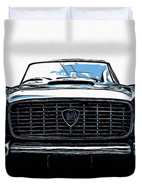 Classic Lancia Duvet Cover