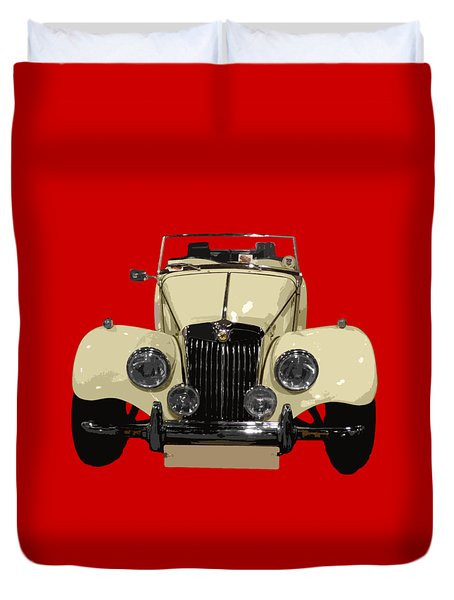 Classic Motor C Art Duvet Cover