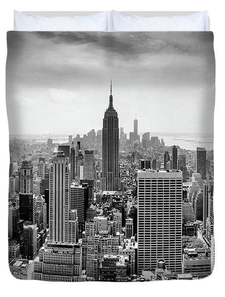 Classic New York  Duvet Cover