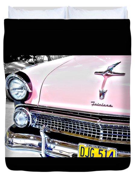 Classic Pink Fairlane Duvet Cover