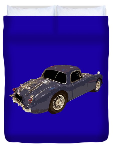 Classic Sports Blue Rear Duvet Cover