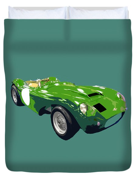 Classic Sports Green Art Duvet Cover