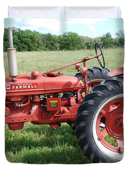 Classic Tractor Duvet Cover by Richard Bryce and Family