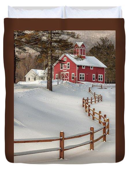 Classic Vermont Barn Duvet Cover