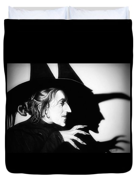 Classic Wicked Witch Of The West Duvet Cover