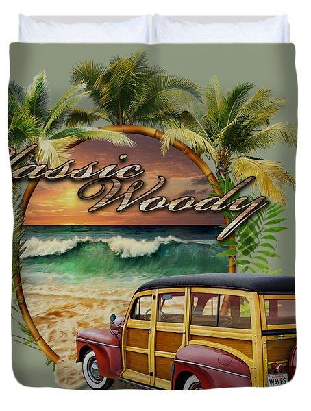 Classic Woody Duvet Cover