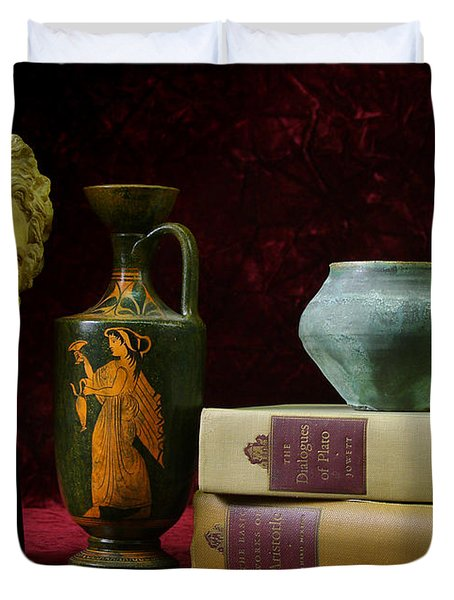 Classical Greece Duvet Cover