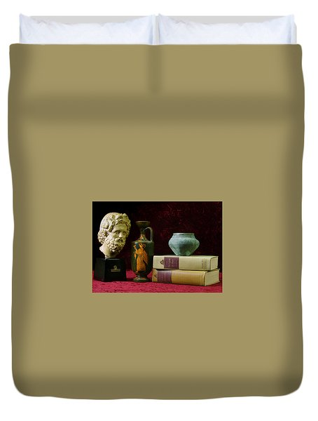 Classical Greece Duvet Cover