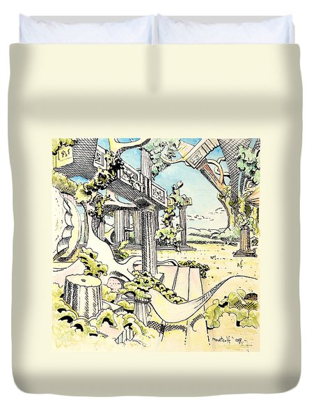Classical Construction Duvet Cover